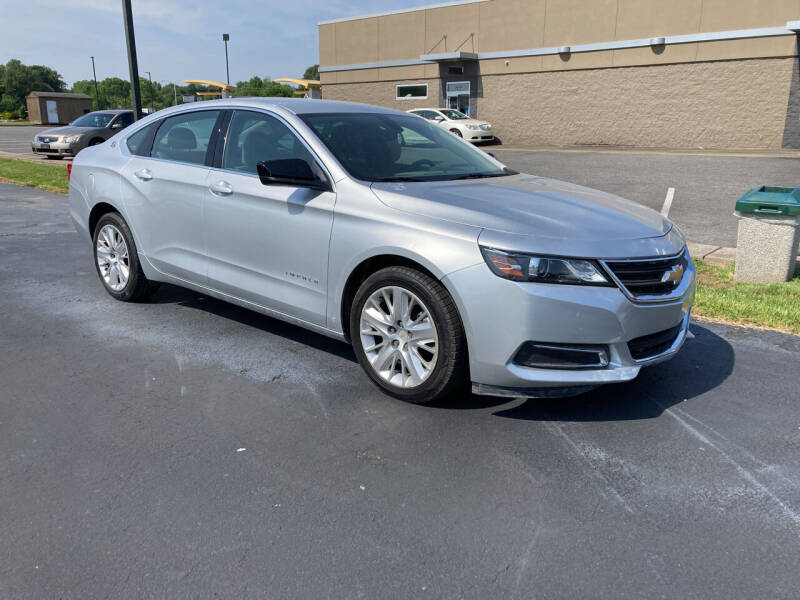 2017 Chevrolet Impala for sale at McCully's Automotive in Benton KY