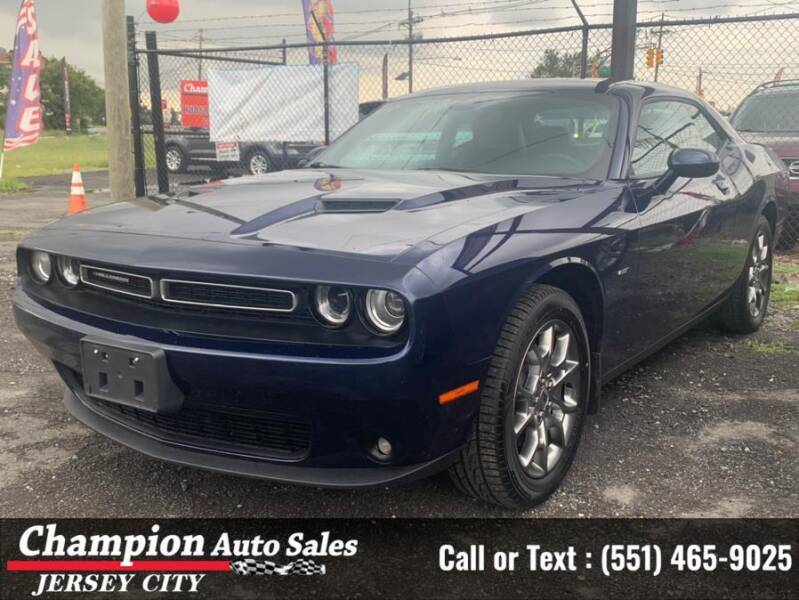 2017 Dodge Challenger for sale at CHAMPION AUTO SALES OF JERSEY CITY in Jersey City NJ