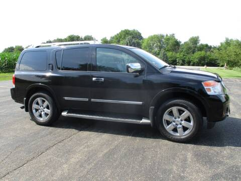 2011 Nissan Armada for sale at Crossroads Used Cars Inc. in Tremont IL