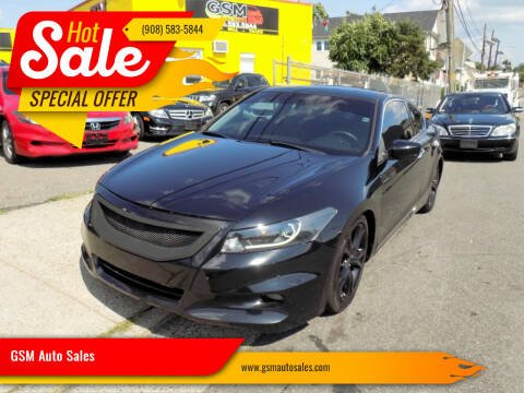 2012 Honda Accord for sale at GSM Auto Sales in Linden NJ
