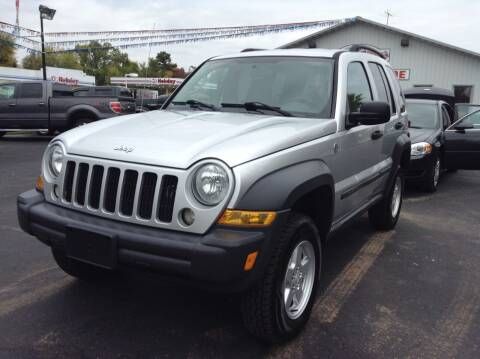 2007 Jeep Liberty for sale at Steves Auto Sales in Cambridge MN