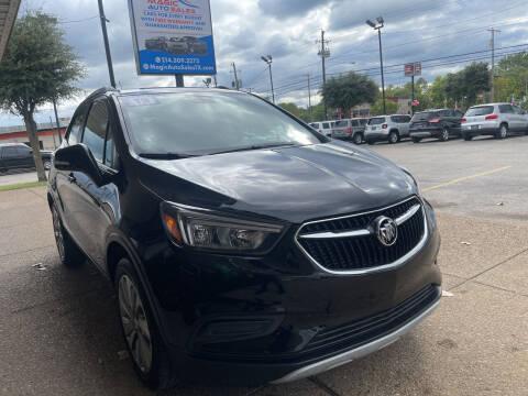 2018 Buick Encore for sale at Magic Auto Sales in Dallas TX