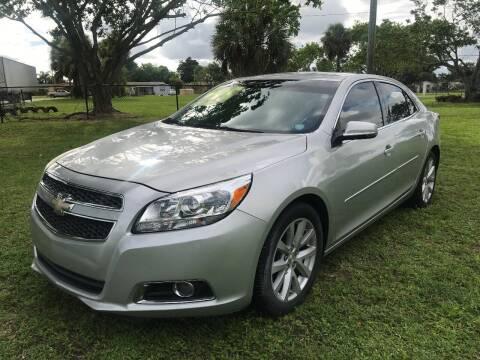 2013 Chevrolet Malibu for sale at Lamberti Auto Collection in Plantation FL