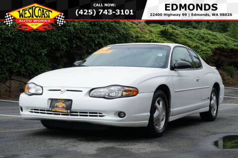 2000 Chevrolet Monte Carlo for sale at West Coast Auto Works in Edmonds WA