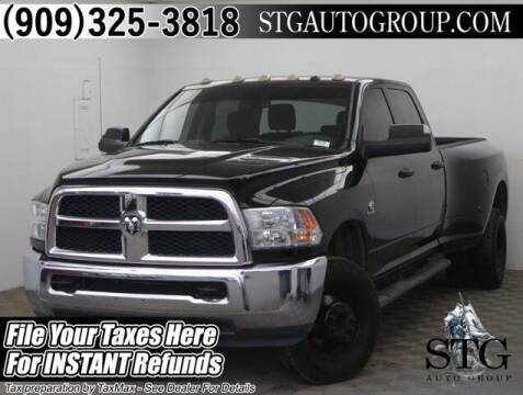 2015 RAM Ram Pickup 3500 for sale at STG Auto Group in Montclair CA