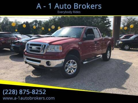 2007 Ford F-150 for sale at A - 1 Auto Brokers in Ocean Springs MS
