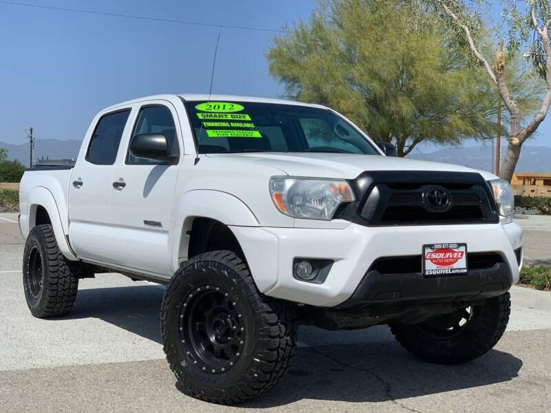 2012 Toyota Tacoma for sale at Esquivel Auto Depot in Rialto CA