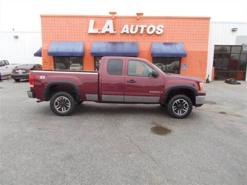 2008 GMC Sierra 1500 for sale at L A AUTOS in Omaha NE