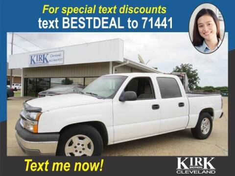 2005 Chevrolet Silverado 1500 for sale at Kirk Brothers of Cleveland in Cleveland MS