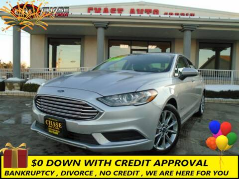 2017 Ford Fusion Hybrid for sale at Chase Auto Credit in Oklahoma City OK
