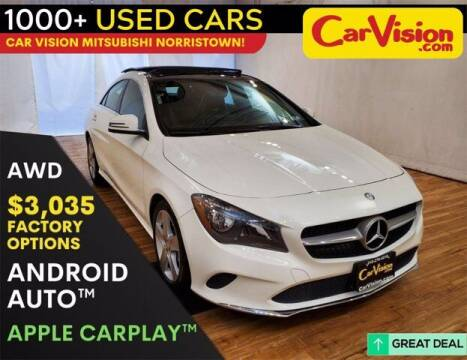 2017 Mercedes-Benz CLA for sale at Car Vision Buying Center in Norristown PA