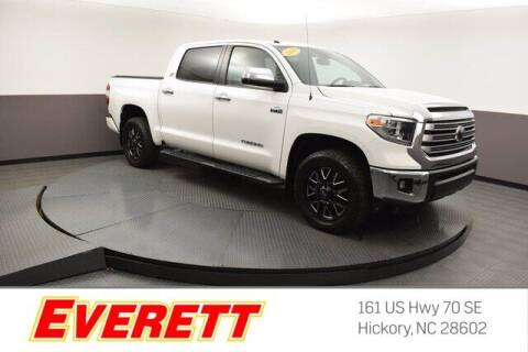 2019 Toyota Tundra for sale at Everett Chevrolet Buick GMC in Hickory NC