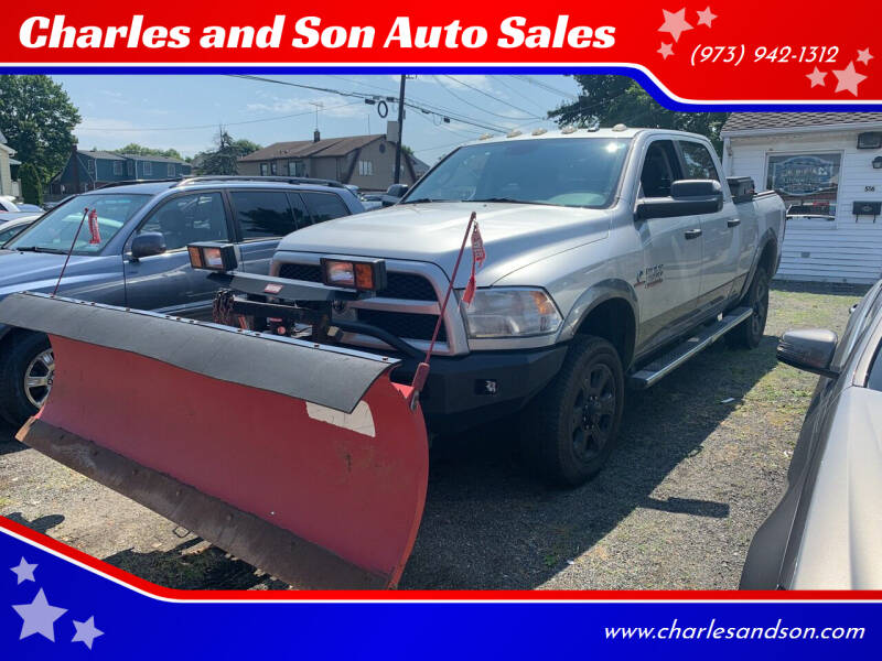 2013 RAM Ram Pickup 2500 for sale at Charles and Son Auto Sales in Totowa NJ
