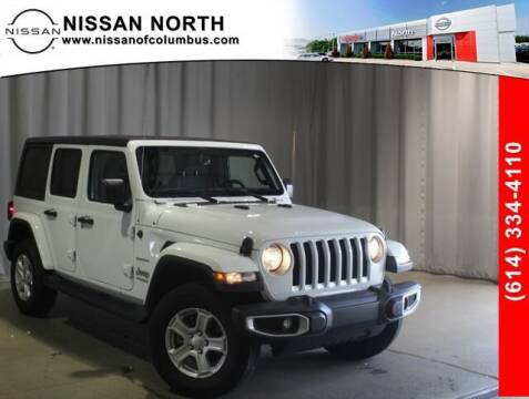 2020 Jeep Wrangler Unlimited for sale at Auto Center of Columbus in Columbus OH