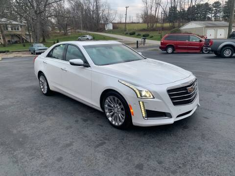 2016 Cadillac CTS for sale at Twin Rocks Auto Sales LLC in Uniontown PA