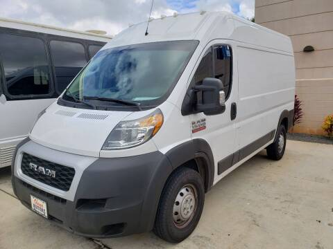 2020 RAM ProMaster Cargo for sale at Ohana Motors in Lihue HI