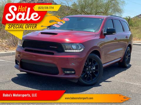 2018 Dodge Durango for sale at Baba's Motorsports, LLC in Phoenix AZ