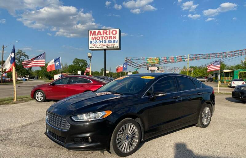 2014 Ford Fusion for sale at Mario Motors in South Houston TX