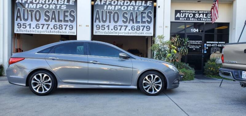 2014 Hyundai Sonata for sale at Affordable Imports Auto Sales in Murrieta CA