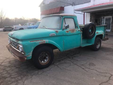 1964 Ford F-250 for sale at FIREBALL MOTORS LLC in Lowellville OH