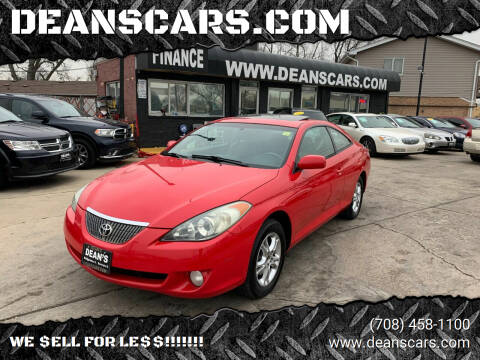 2005 Toyota Camry Solara for sale at DEANSCARS.COM in Bridgeview IL