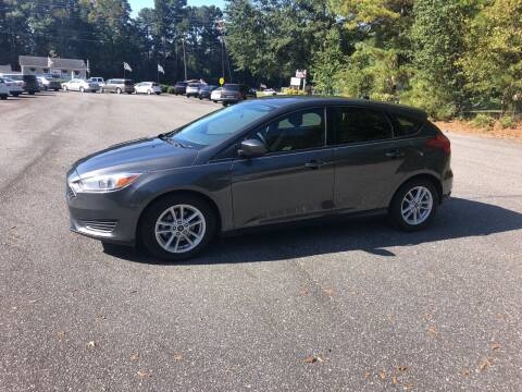 2018 Ford Focus for sale at Dorsey Auto Sales in Anderson SC