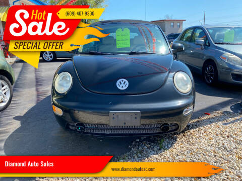 2004 Volkswagen New Beetle Convertible for sale at Diamond Auto Sales in Pleasantville NJ