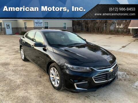 2020 Chevrolet Malibu for sale at American Motors, Inc. in Farmington MN