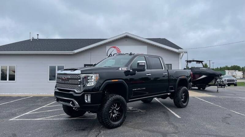 2021 GMC Sierra 2500HD for sale at Action Motor Sales in Gaylord MI