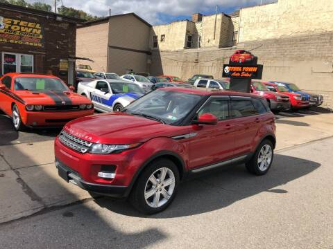 2015 Land Rover Range Rover Evoque for sale at STEEL TOWN PRE OWNED AUTO SALES in Weirton WV
