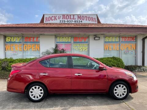 2017 Nissan Versa for sale at Rock & Roll Motors in Baton Rouge LA