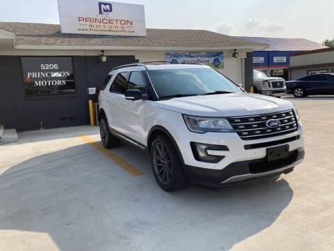 2016 Ford Explorer for sale at Princeton Motors in Princeton TX