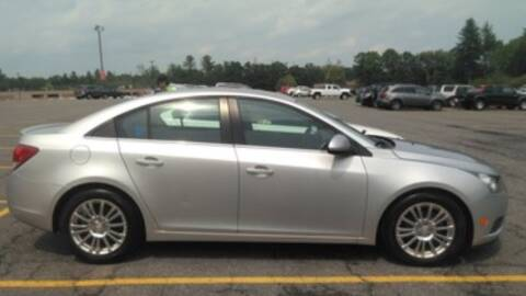 2013 Chevrolet Cruze for sale at Nano's Autos in Concord MA