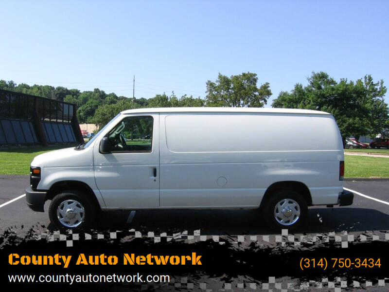 2010 Ford E-Series Cargo for sale at County Auto Network in Ballwin MO