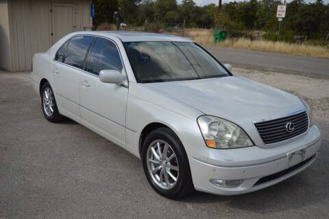2003 Lexus LS 430 for sale at Coleman Auto Group in Austin TX