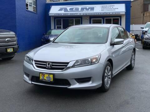 2014 Honda Accord for sale at AGM AUTO SALES in Malden MA