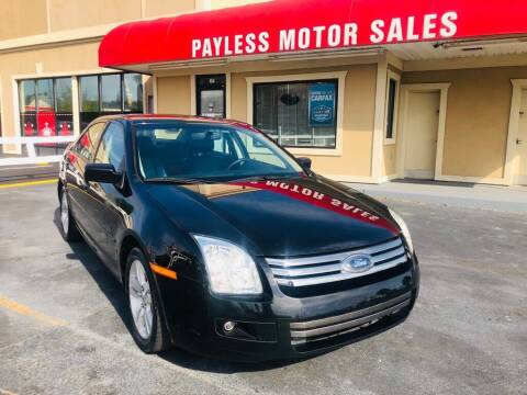 2008 Ford Fusion for sale at Payless Motor Sales LLC in Burlington NC