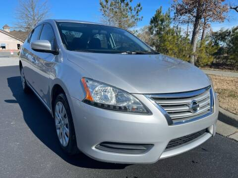 2015 Nissan Sentra for sale at LA 12 Motors in Durham NC
