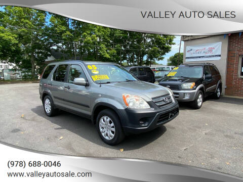 2005 Honda CR-V for sale at VALLEY AUTO SALES in Methuen MA