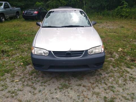2001 Toyota Corolla for sale at Maple Street Auto Sales in Bellingham MA