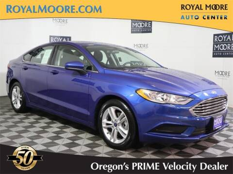 2018 Ford Fusion for sale at Royal Moore Custom Finance in Hillsboro OR
