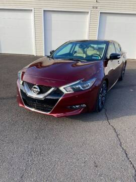 2016 Nissan Maxima for sale at Interstate Fleet Inc. Auto Sales in Colmar PA