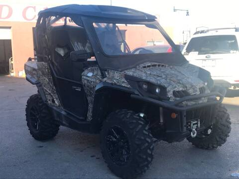 2013 Can-Am Commander XT for sale at Used Cars and Trucks For Less in Millcreek UT