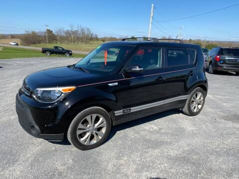 2014 Kia Soul for sale at Riverside Motors in Glenfield NY