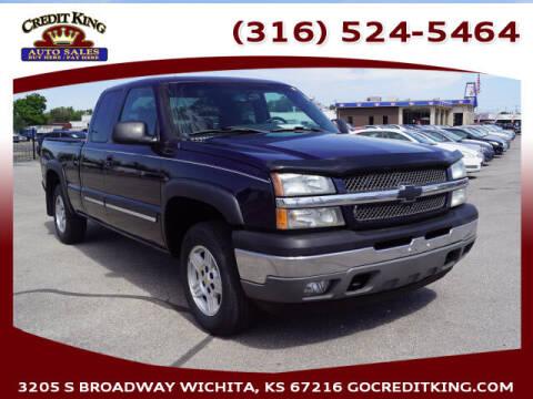 2005 Chevrolet Silverado 1500 for sale at Credit King Auto Sales in Wichita KS