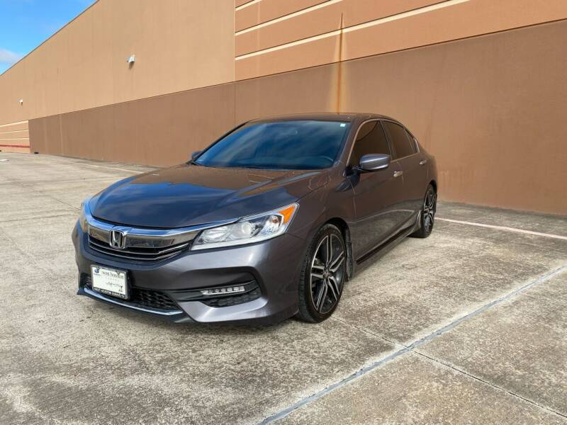 2017 Honda Accord for sale at ALL STAR MOTORS INC in Houston TX