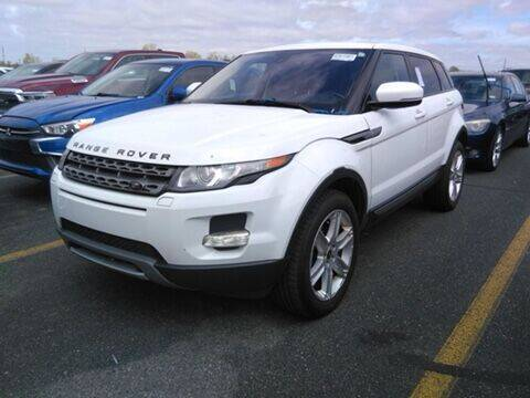 2013 Land Rover Range Rover Evoque for sale at C & M Auto Sales in Detroit MI