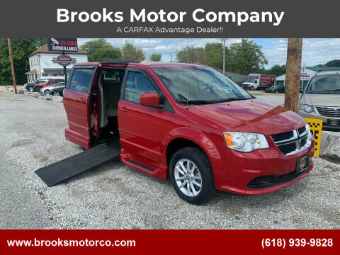 2014 Dodge Grand Caravan for sale at Brooks Motor Company in Columbia IL