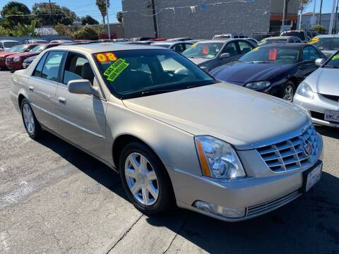 2008 Cadillac DTS for sale at North County Auto in Oceanside CA