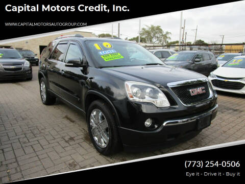 2010 GMC Acadia for sale at Capital Motors Credit, Inc. in Chicago IL